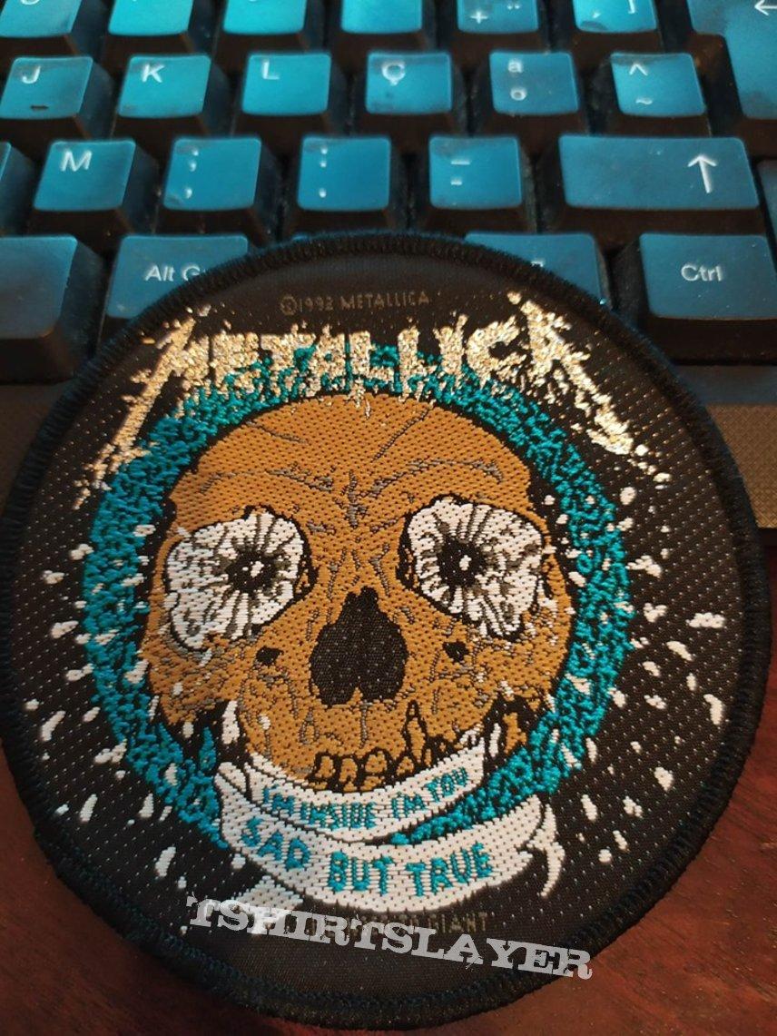 "Official Vintage Metallica 1993 ""Sad But True"" Patch"