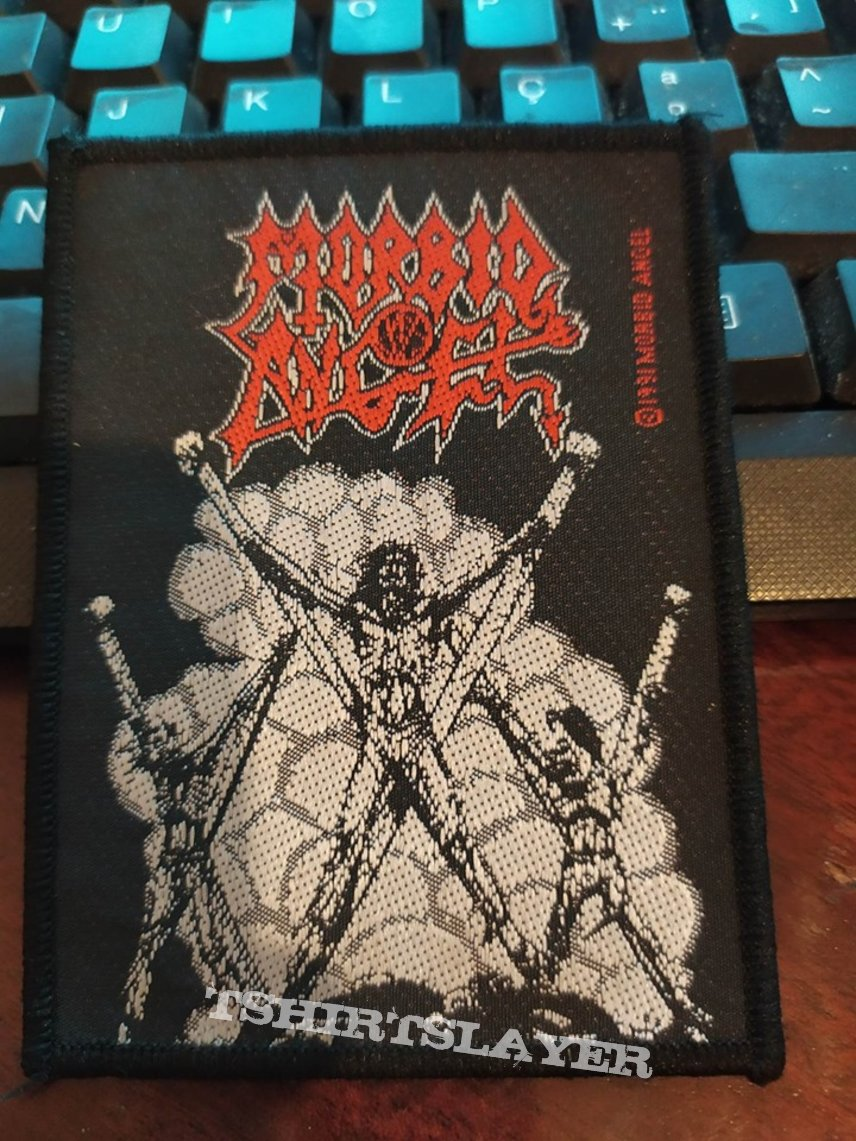 "Official Vintage 1991 Morbid Angel ""Thy Kingdom Come"" Patch"