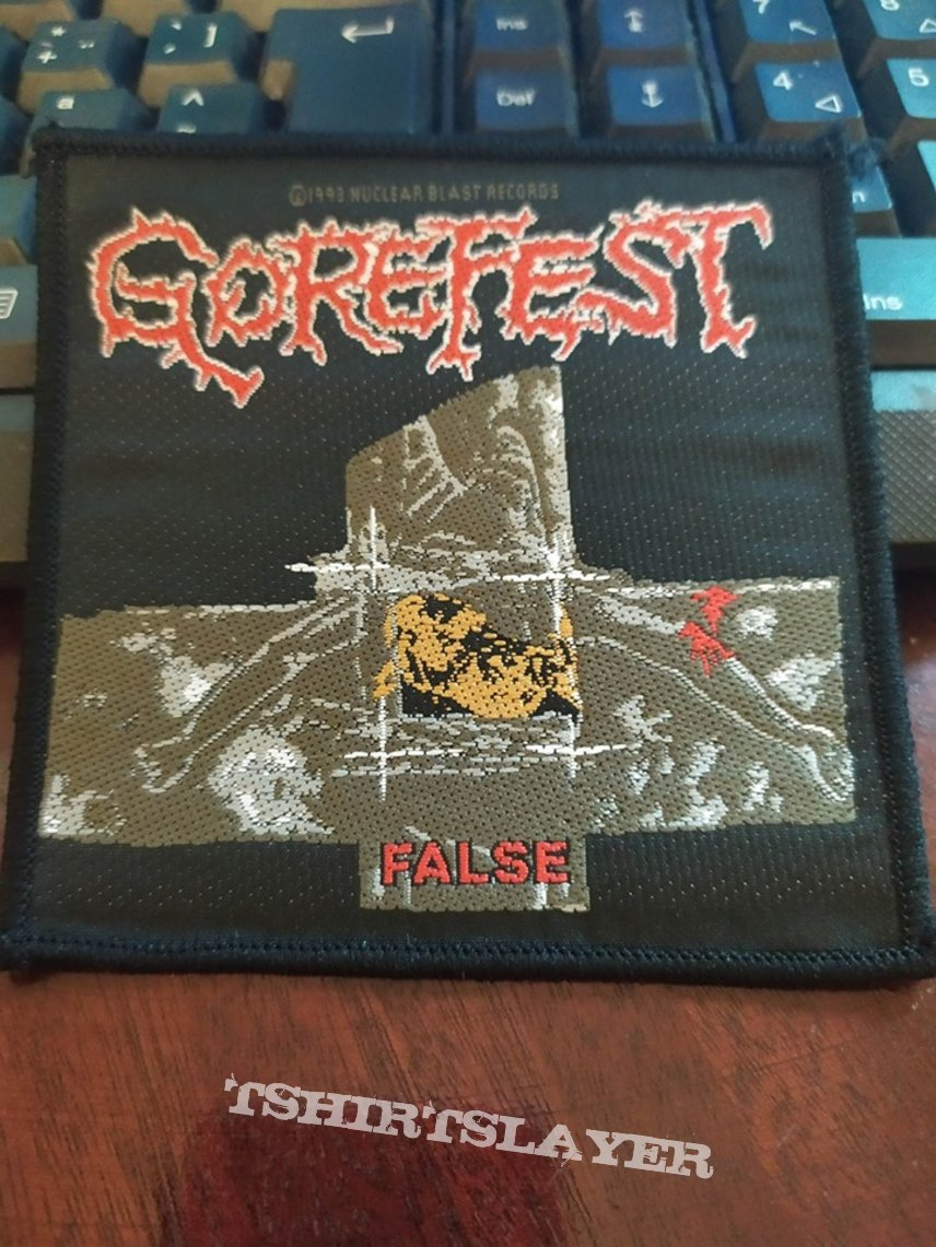 Gorefest Official Patch