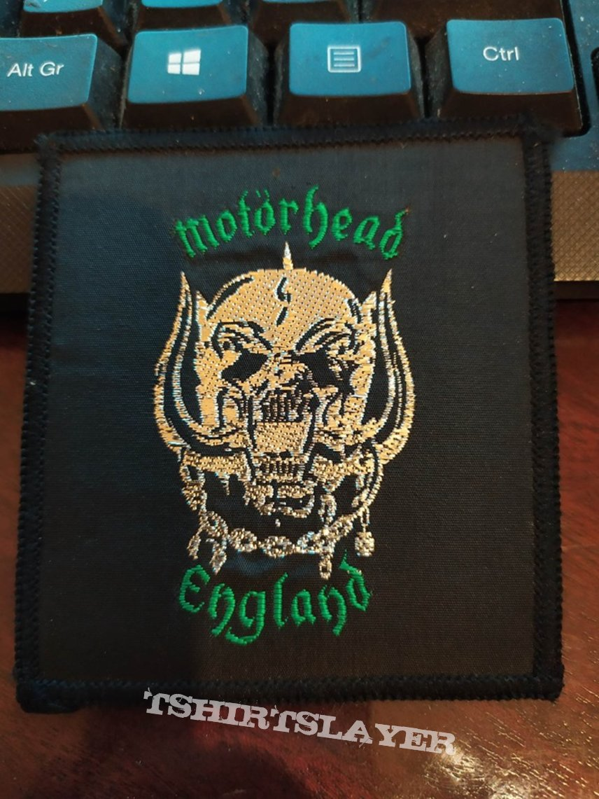 Official Vintage 1980 Motörhead Patch