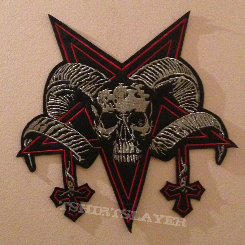 Proclamation back patch - Advent of the Black Omen