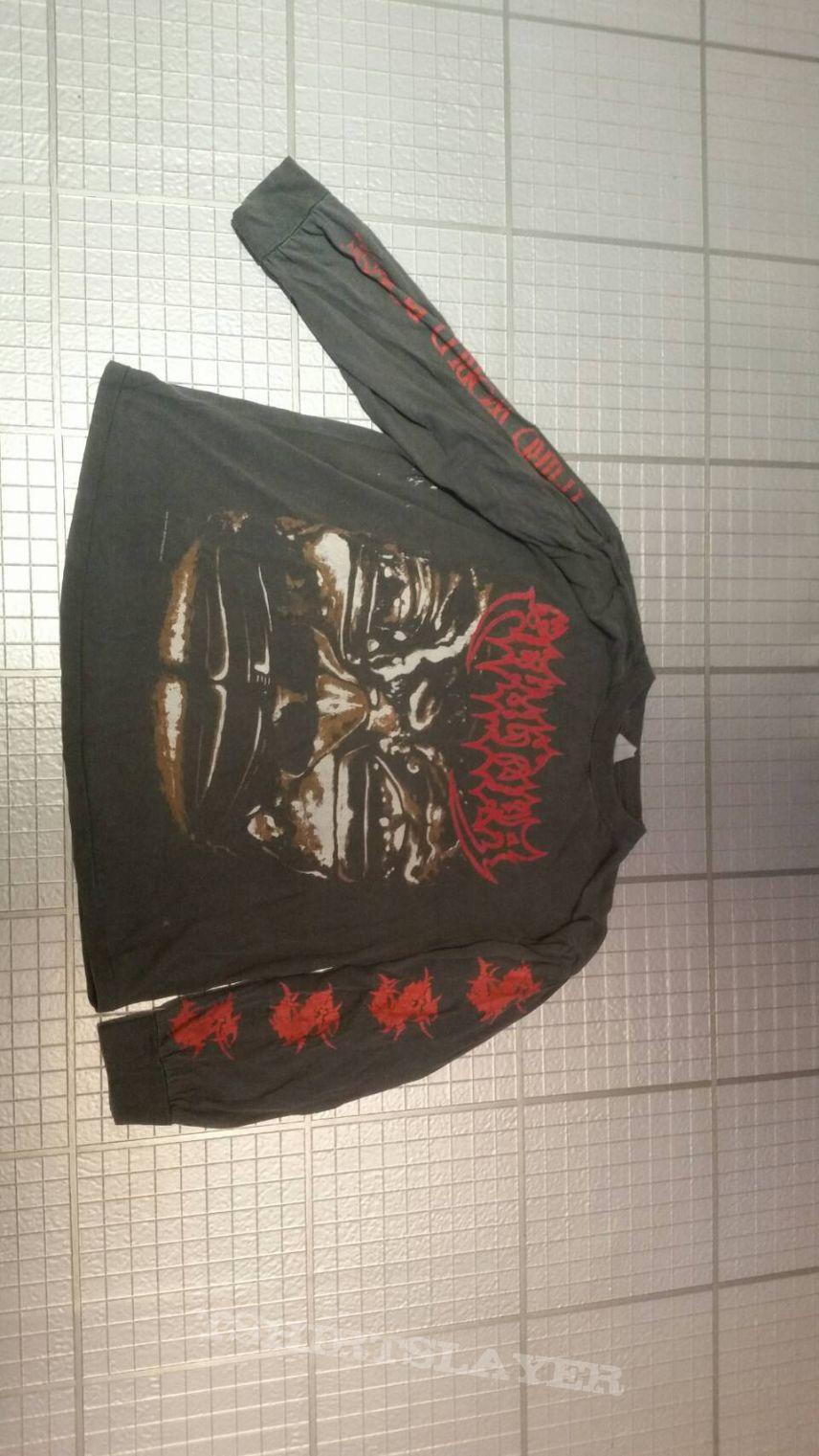 Sepultura 1992 Third world posse tour shirt XL Longsleeve