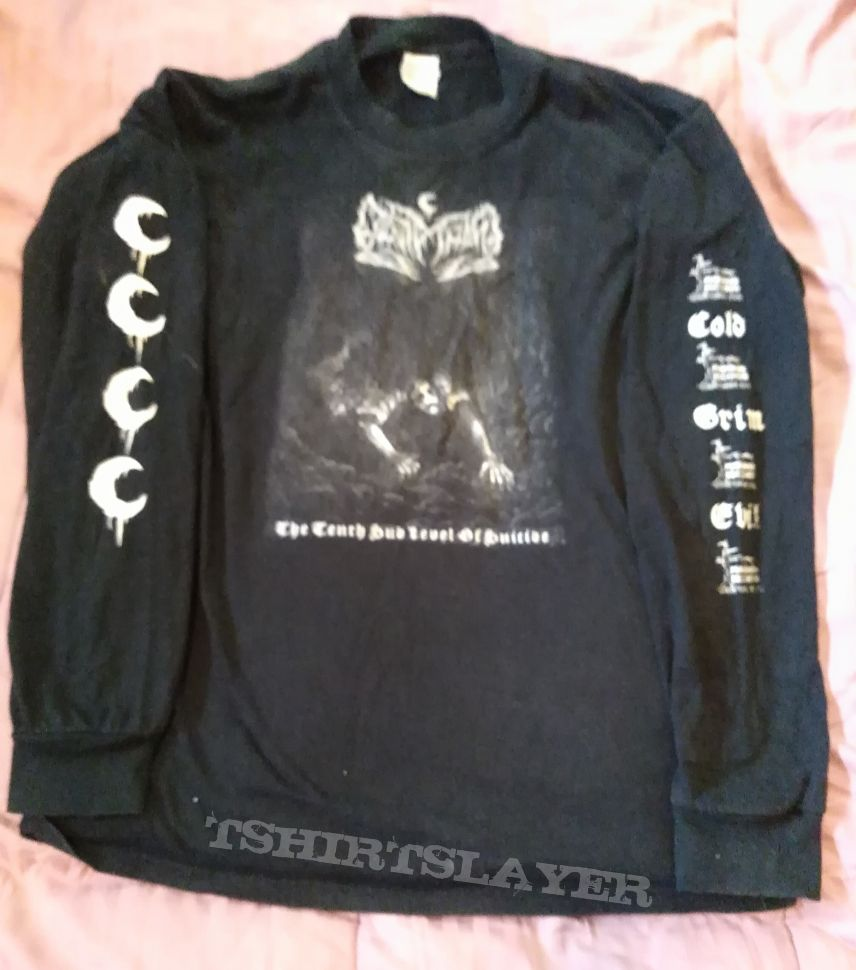 Leviathan 'The Tenth Sub Level of Suicide' Moribund longsleeve