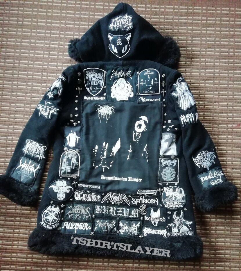 Darkthrone 'Transilvanian Hunger' winter fur coat