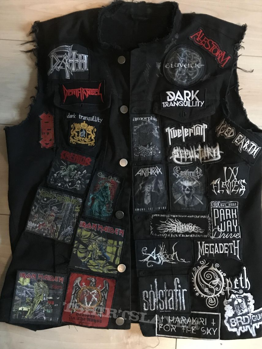 Mixed Bands Vest