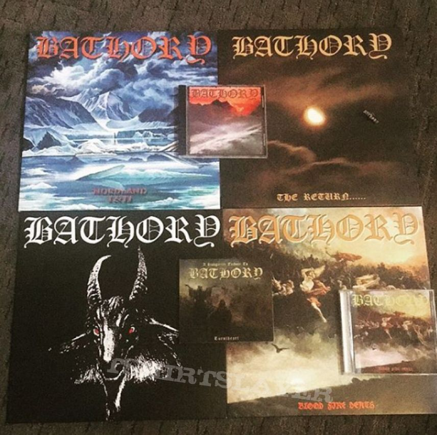 Bathory collection - Vinyls and CDs