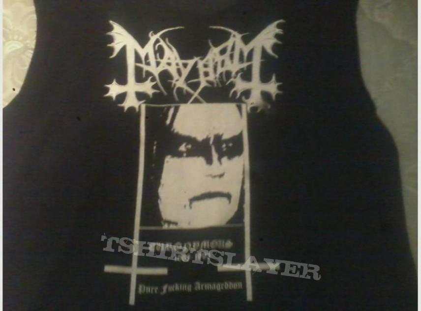 DIY Mayhem- Euronymous shirt | TShirtSlayer TShirt and