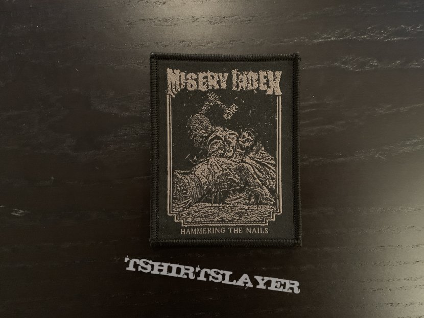 Misery Index - Hammering the Nails patch