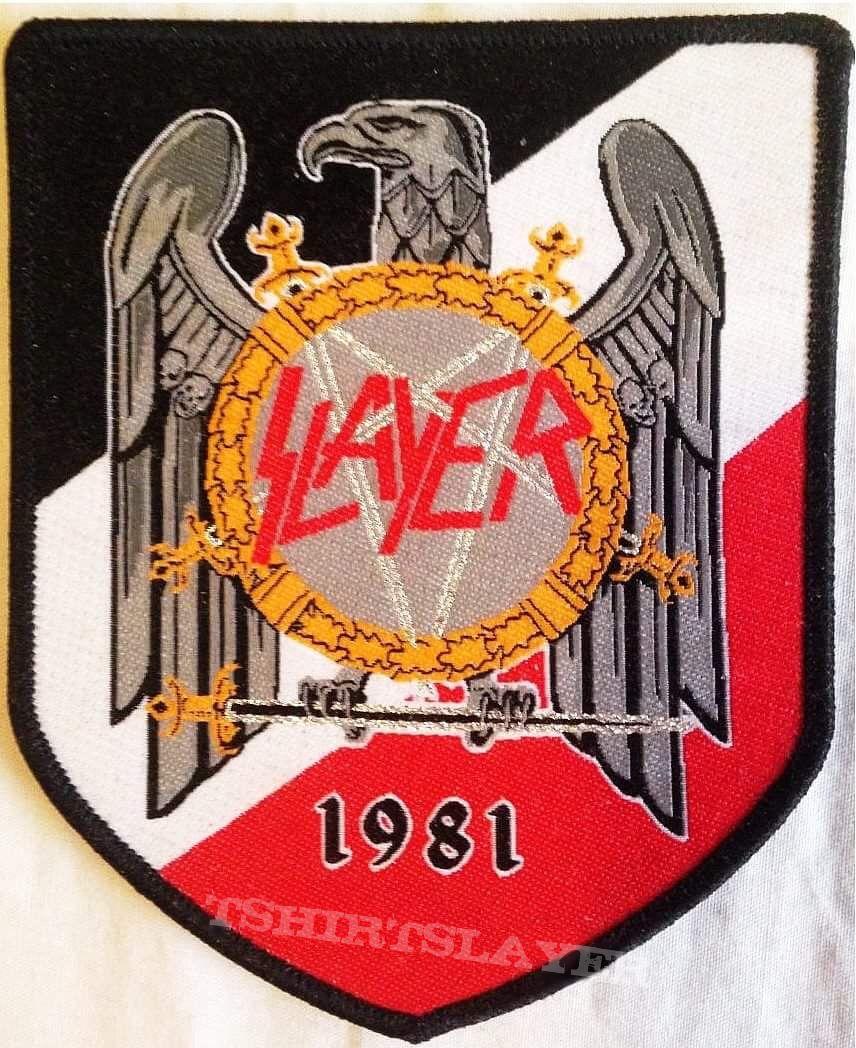 SLAYER ´eagle 1981` patch