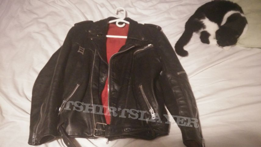 Jofama style leather jacket