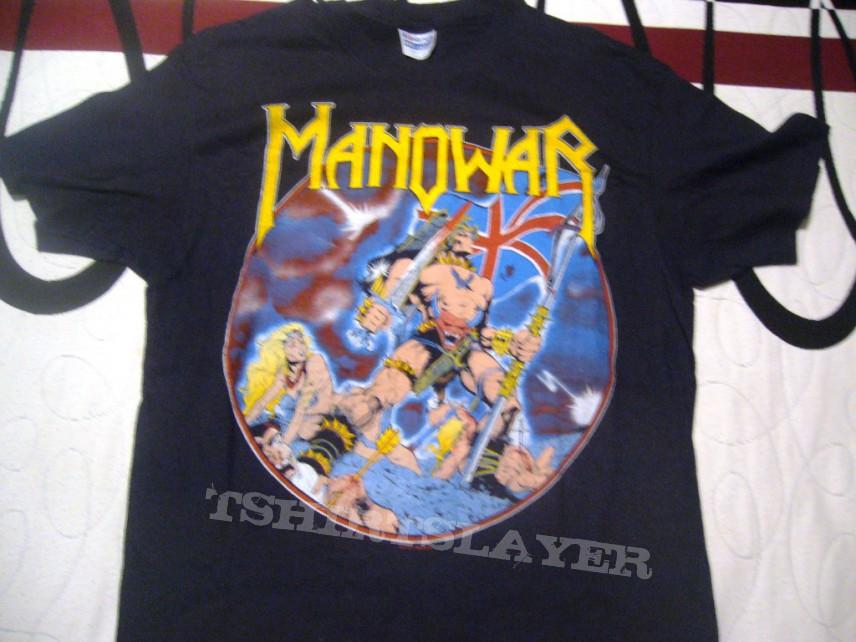 Manowar hail to england tour new york 83 megarare ¡¡¡¡¡¡¡  black