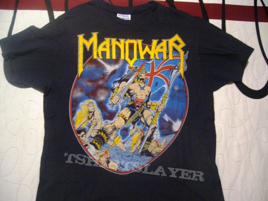Manowar hail to england tour 84 megarare ¡¡¡¡¡¡¡  black