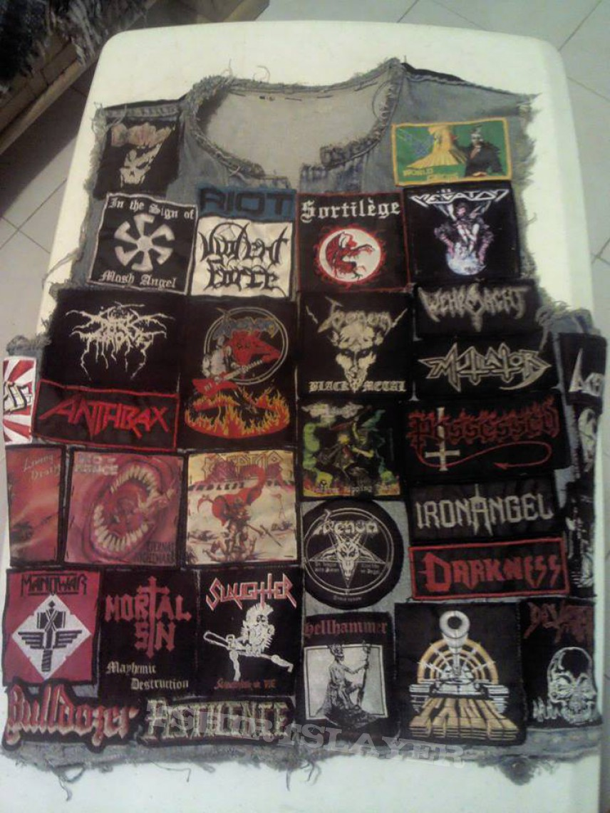 My Battle Jacket! (re-upload)