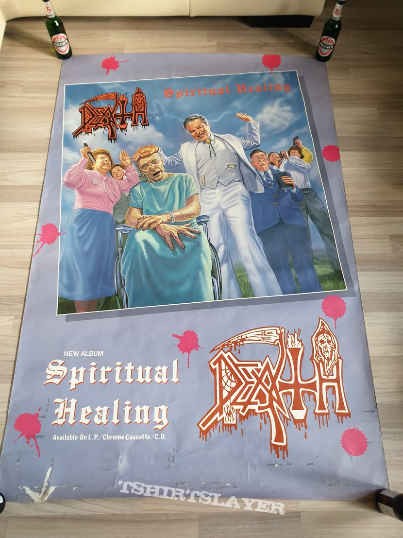 Death - Spiritual Healing  Promo Poster