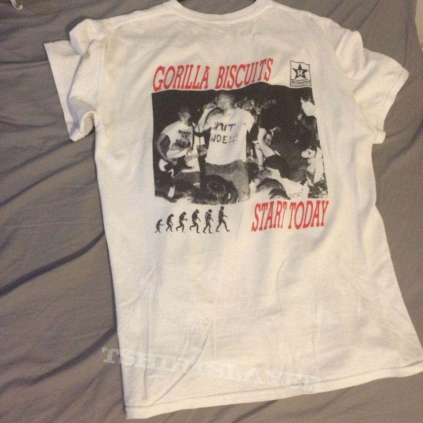 OG gorilla biscuits shirt