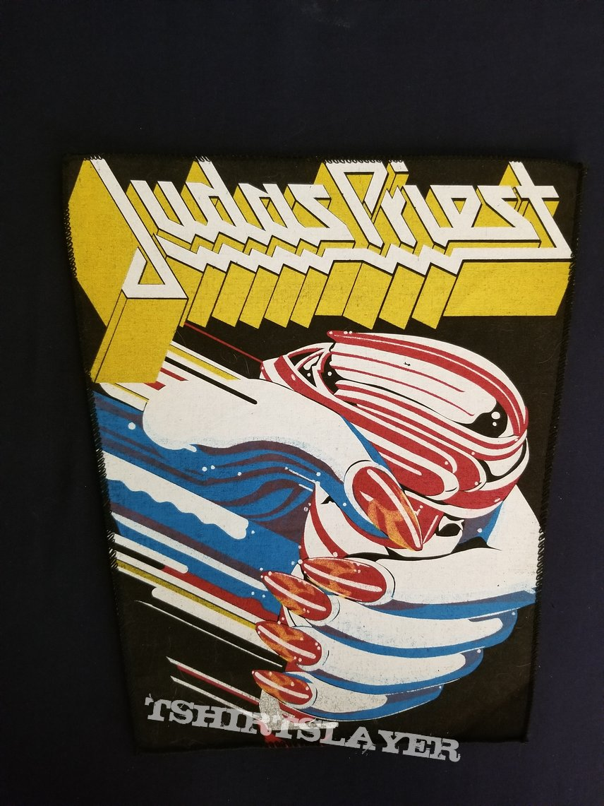 Judas priest back patch  turbo