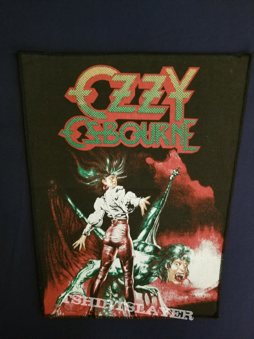 Ozzy Osbourne  ultimate sin back patch