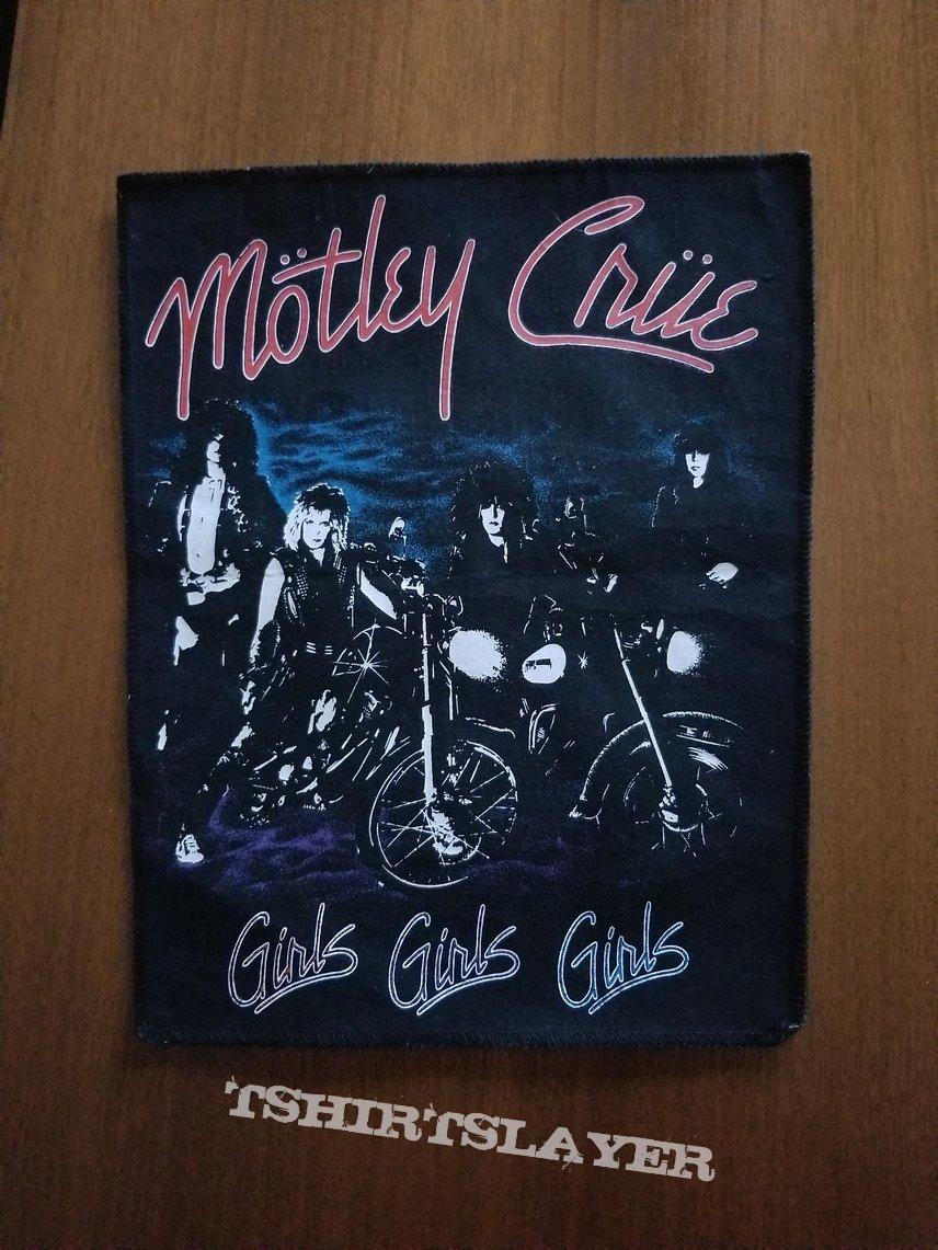 Motley Crue Girls Girls Girls Back Patch