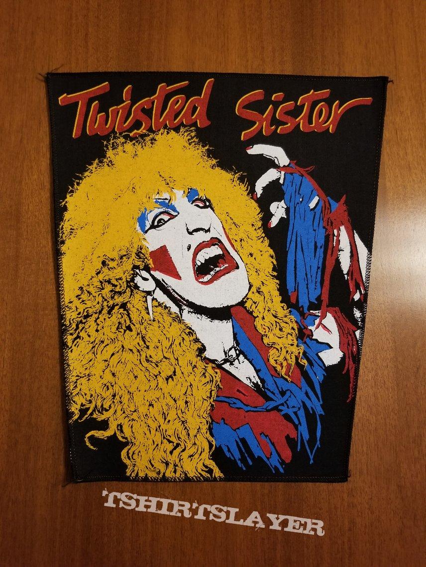 Twisted Sister - Dee Snider - vintage backpatch