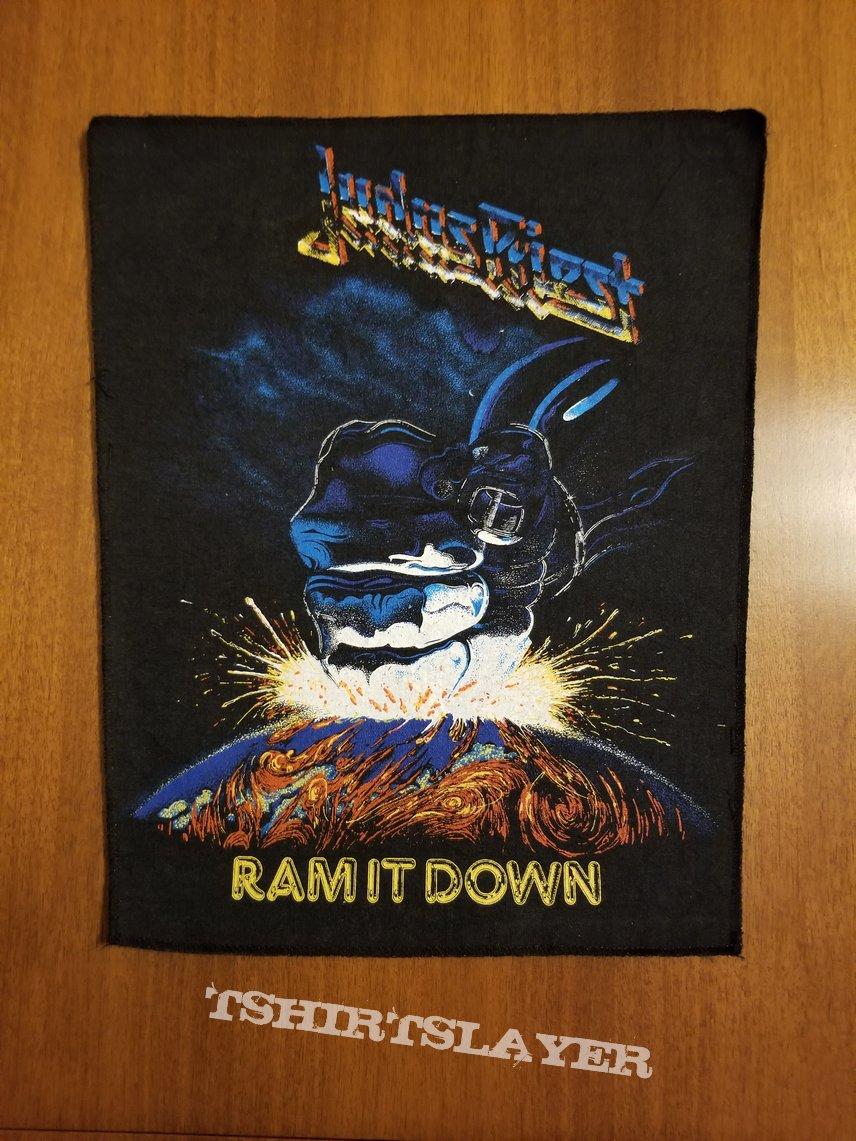 Judas Priest ram It Down  Back Patch