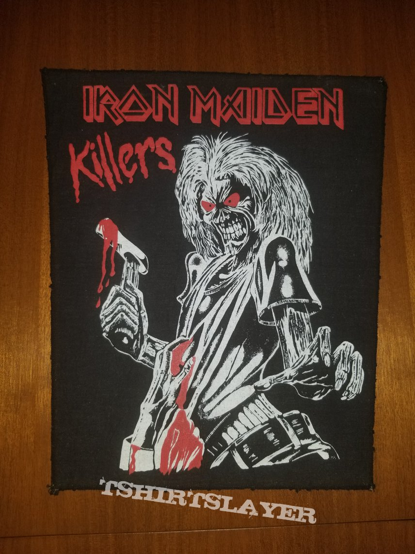 Iron Maiden - Killers - Vintage Back Patch