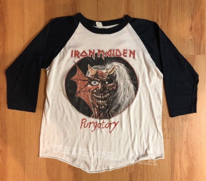 Iron Maiden Purgatory Shirt (vintage)