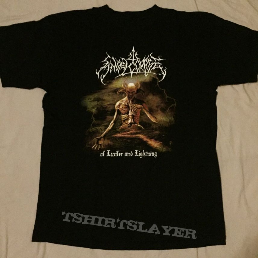 Angelcorpse Of Lucifer And Lightning Tshirt L