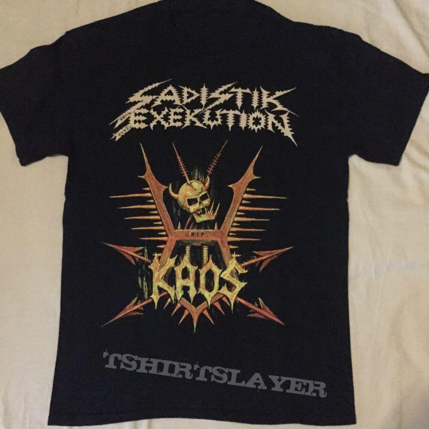 Sadistik Exekution KAOS Shirt L