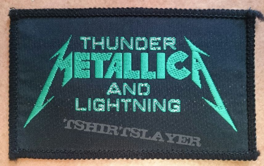 Thunder And Lightning Patch