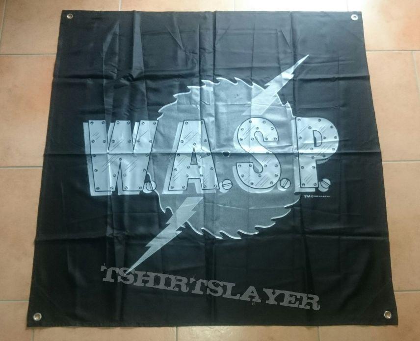 Banner / Flag with Sawblade Logo