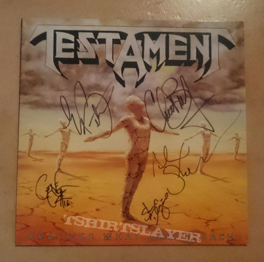 Practice What You Preach LP Signed
