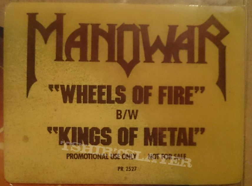 Wheels Of Fire Promo Picture Disc