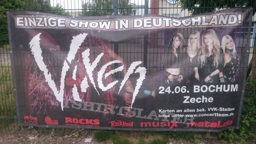 Concert / Tour Banner 2018