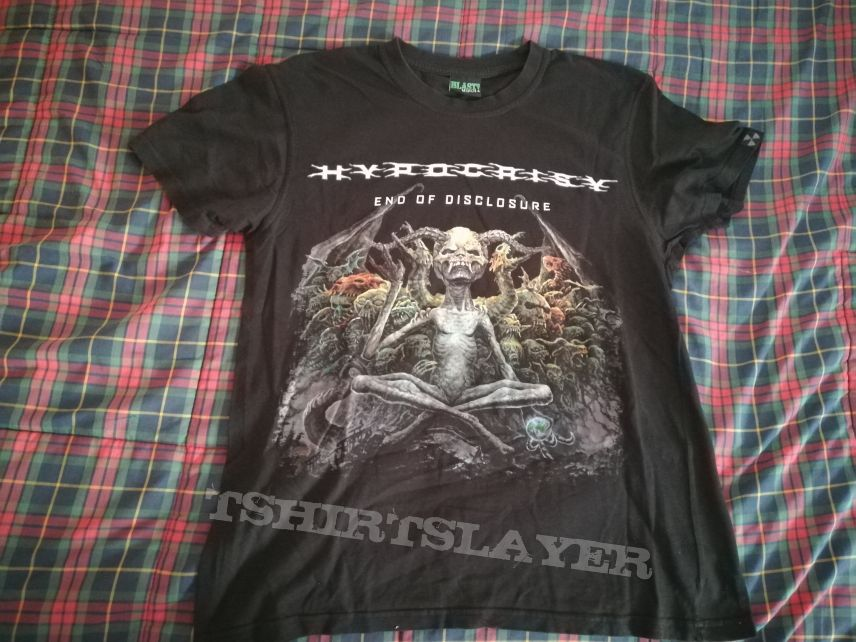 "Hypocrisy ""End Of Disclosure"" tour shirt"