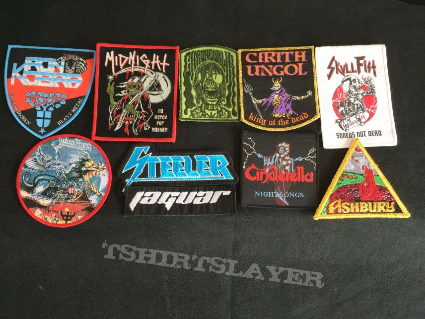 New Patches that need to go on the my Jacket