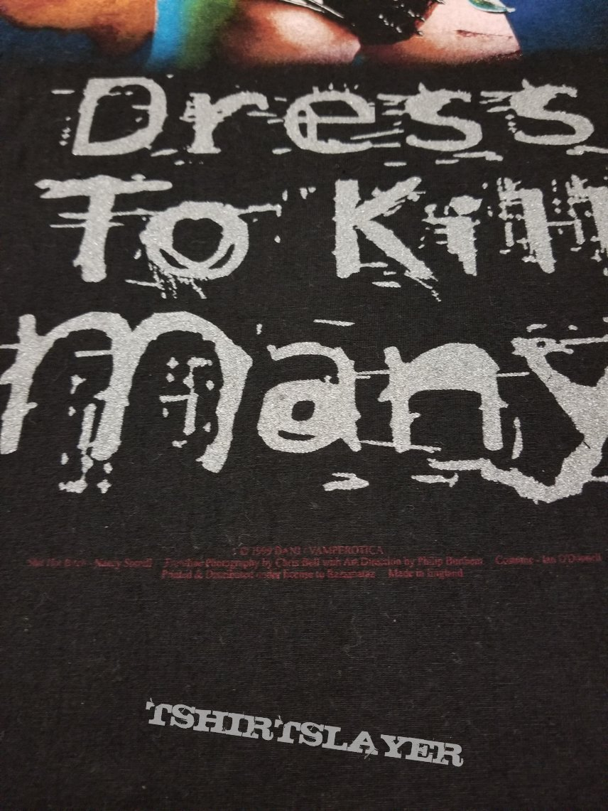 Cradle Of Filth 'Dress To Kill Many'(Vamperotica)