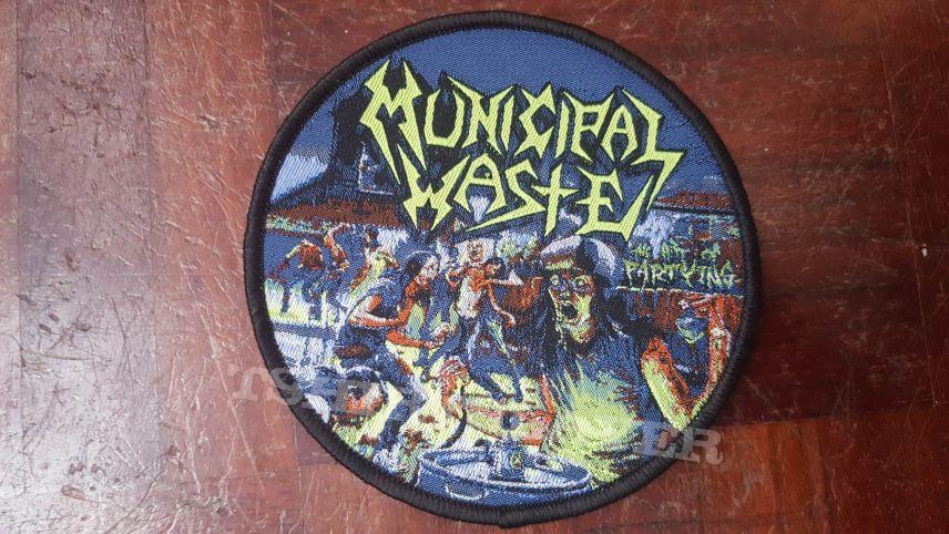 Municipal Waste patch