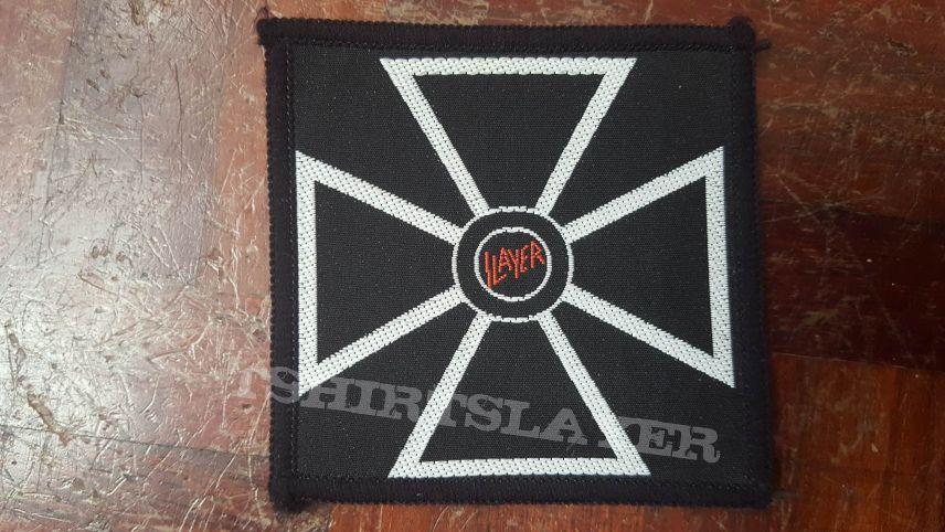 Slayer vintage cross patch