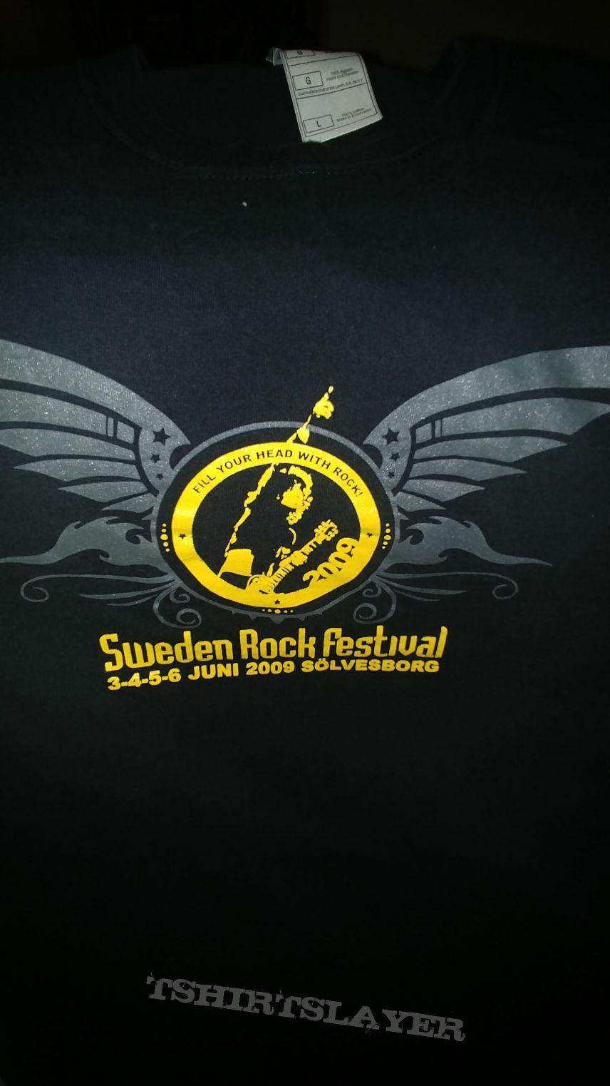 Sweden Rock Festival T shirt Large