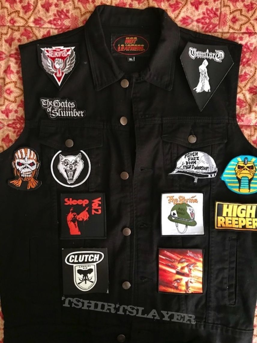 Front of my newest battle vest I am working on