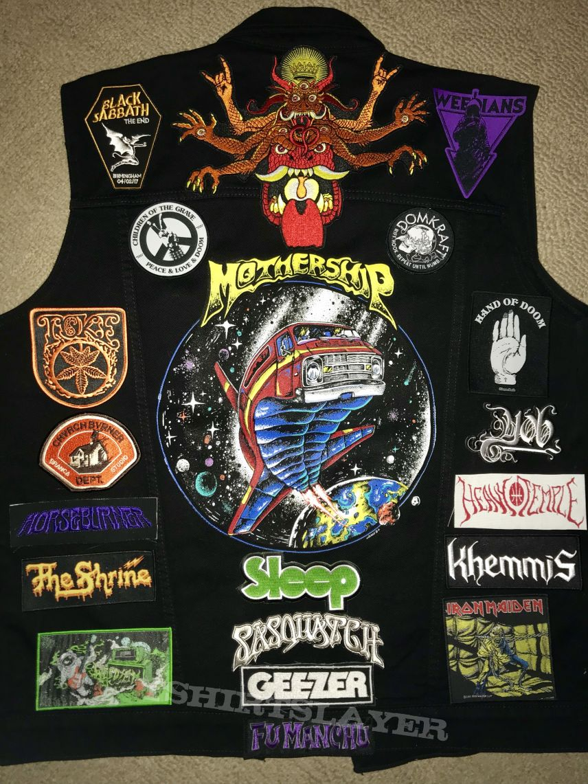 My two battle jackets that I own. More to come