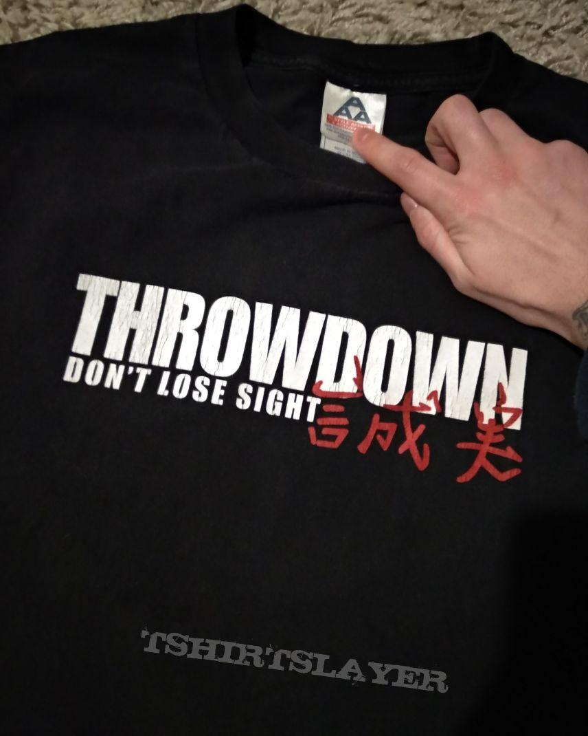 Throwdown don't lose sight