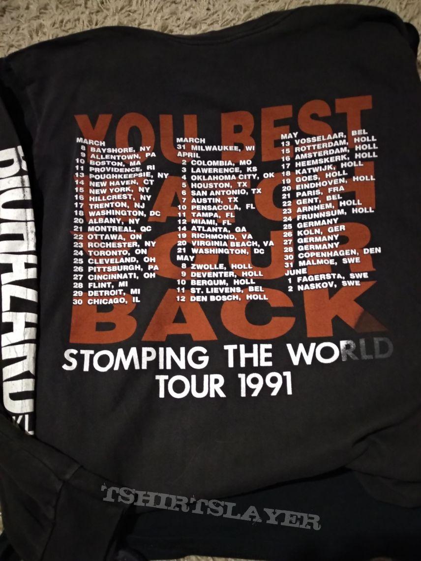 Biohazard Tour 1991