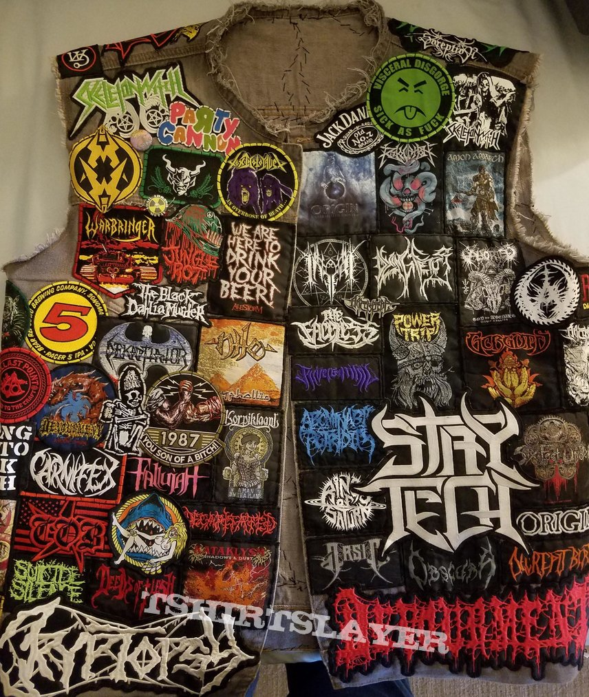 Death/thrash/misc Battle Jacket