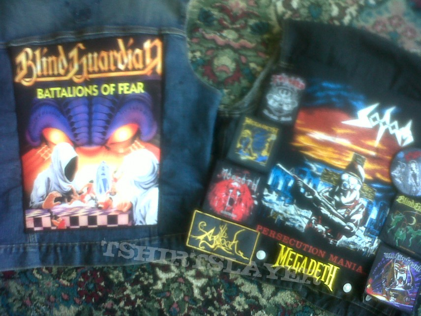 Battle Jacket - New Backpatches