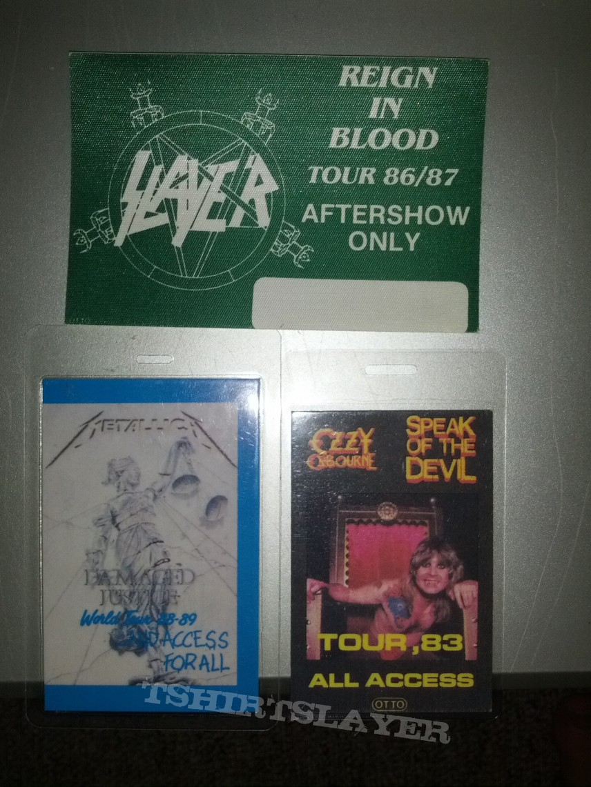 Other Collectable - Vintage Backstage Passes