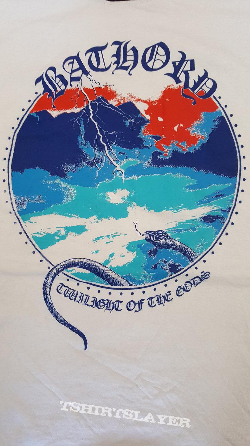 Bathory Twilight of the Gods (Ringer shirt)
