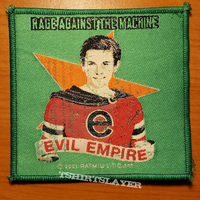 "Rage Against The Machine ""Evil Empire"" patch"