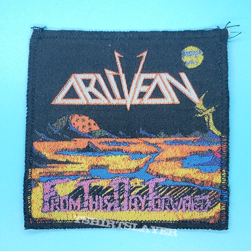 """Obliveon """"From This Day Forward"""" patch"""