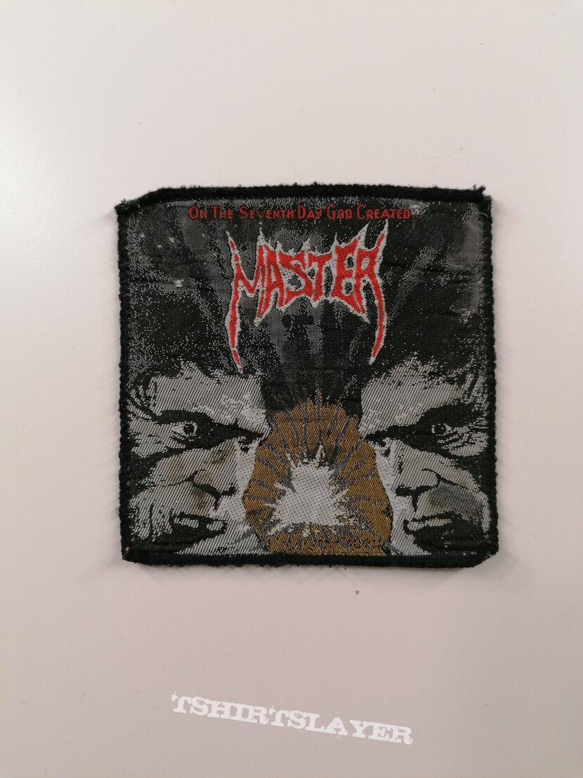 Master - On the Seventh Day.. 1991 patch